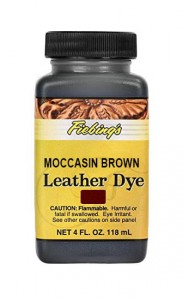 Fiebing's Leather Dye - MOCCASIN BROWN 4oz