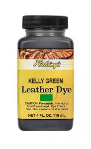 Fiebing's Leather Dye - KELLY GREEN 4oz