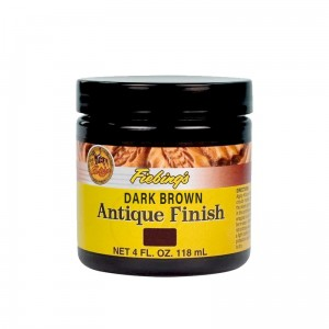 Fiebing's Antique Finish - DARK BROWN 4oz.